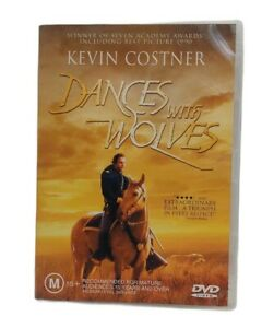 Dances With Wolves R4 Kevin Costner DVD Free Tracked Post