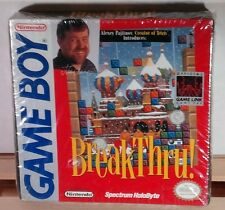 BreakThru! (Nintendo Game Boy 1989) GB  Brand New & Factory Sealed