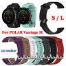 Correa de pulsera de silicona Smart Watch Band para Polar Vantage M 22m