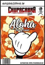Aloha hang Loose Pegatina Sticker Fun surf auto pegatinas JDM