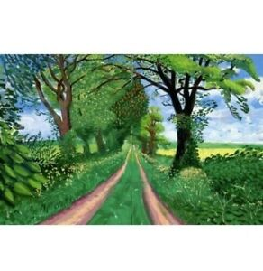 David Hockney Late Spring Canvas 20x30 Inches Wall art canvas