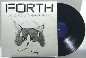 Forth - Audio Message - HIGH WATER RECORDINGS LP 1007 - PRIVATE LABEL JAZZ