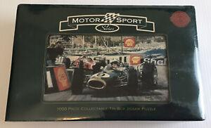 1000 Piece Jigsaw Motor Sport Series 1967 Monaco Grand Prix Denny Hulme In Tin