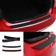 "35"" Rear Bumper Protector Guard Trim Cover Trunk Sill Plate Twindoor Rubber Pad"