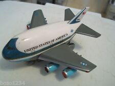AIR FORCE ONE USAF UNITED STATES OF AMERICA REMOTE CONTROL AIRPLANE LIGHTS SOUND