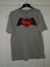 BATMAN VS SUPERMAN GREY T-SHIRT - Size XL