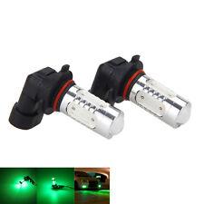 2pcs Green 9005 HB3 9011 High Power LED Projector Bulb For Car Driving Fog Light