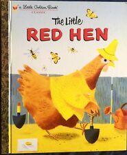 LITTLE RED HEN Favorite Folktale ~ NEW Edition Children's Little Golden Book