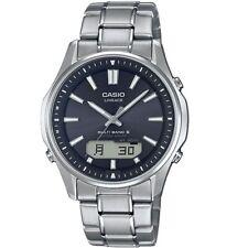 NEU Casio Silber Herren Armbanduhr Radio Controlled Watches LCW-M100TSE-1AER