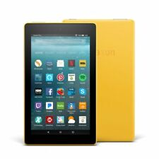 All-New Amazon Fire Tablet 7 w/ Alexa Wi-Fi 16GB 720p HD Video (Canary Yellow)
