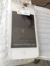 TOUCH SCREEN VETRO SCHERMO + LCD Display + TASTO Assemblato x iPhone 4s - Bianco