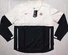 NEW Ohio State Buckeyes Nike Jacket On Field Apparel Large White Black
