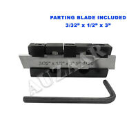"""Lathe Adjustable Type Parting Cut Off Tool Holder 10mm Shank With 3/32 x 1/2 x3"""""""