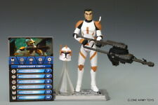 STAR WARS Commander Cody CW03 THE CLONE WARS COLLECTION TCW CW3 SOTDS 3.75 LOOSE