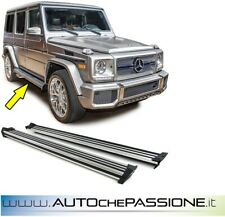 Coppia pedane laterali per Mercedes Classe G W463 1989>2012 5 porte LWB