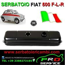 SERBATOIO benzina NUOVO zincato FIAT 500 F-L-R made in ITALY