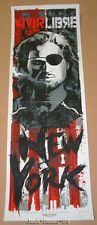 Rhys Cooper Escape From New York Vivir Libre Signed Numbered Poster Print 2012