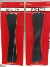 3 X Revlon Cushione Shapers File Coarse Surface HARD or ARTIFICIAL NAILS 6262-10