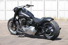 """Rick`s Harley-Davidson """"KENNZEICHENHALTER-KIT"""" mit TÜV für Softail 00-07 chrom"""