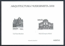 PRUEBA ARQUITECTURA MODERNISTA 2008 - SPAIN SPANIEN ESPANA ESPAGNE