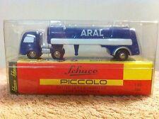 "Schuco  Piccolo  1:90  Mercedes Tanksattelzug  "" ARAL """