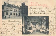 Marburg Drau Maribor Slovenia MARIBORU Schneider Restauration Kegelbahn 1900