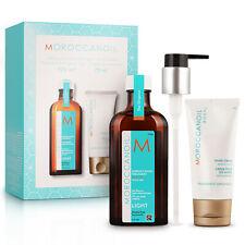 Moroccanoil Treatment Oil Light 125ml + Hand Cream 75ml New ✲Free Shipping✲