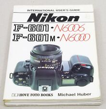Nikon F-601 USER'S GUIDE-Hove Books - 174 pagine 12x19cm
