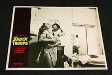1968 Shock Troops Lobby Card 68/248 #3 Harry Saltzman (C-7)