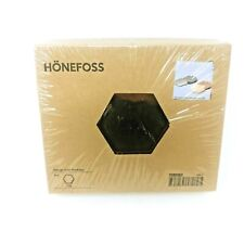 IKEA HONEFOSS 10 HEXAGONAL CHROME BRASS MIRRORS, DECOR 19661,JULIA TREUTIGE, NEW