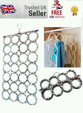 Multi Scarf Scarves Hanger Display Hang Ties Belt Organize Circle Storage Holder