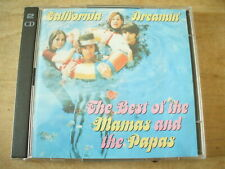 THE BEST OF THE MAMAS AND THE PAPAS - CALIFORNIA DREAMIN' READERS DIGEST 2xCD