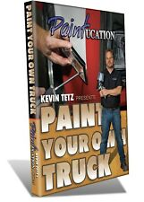 PAINTUCATION DVD PAINT YOUR TRUCK TETZ NEW RELEASE