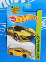 Hot Wheels 2015 Speed Team Series '12 Acura NSX Concept Yellow w/ TRAP5s