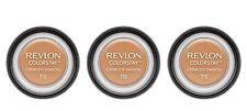 3 LOT REVLON COLORSTAY Creme eye shadow #710 CARAMEL NEW 24 hour wear