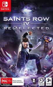 SAINTS ROW IV 4 RE-ELECTED NINTENDO SWITCH AUS GAME