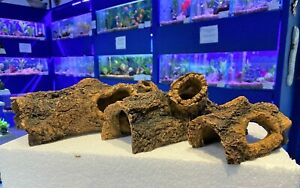 Small Medium Large Realistic Tree Log Cave Hideaway Fish Tank Aquarium Ornament