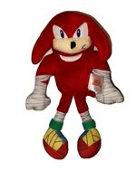 """TOMY Knuckles From Sonic the Hedgehog 8"""" Red Plush Sonic Boom Sega Video Game"""
