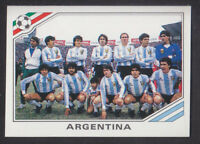 Panini - Mexico 86 World Cup - # 73 Argentina Team Group
