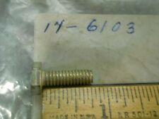 14-6103 Triumph Rocker Inspection Hex Bolt 1/4 x 20 x 3/4 NOS