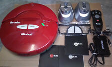 iRobot Roomba Red 4100 Vacuum Cleaner + Accessories Untested As-Is