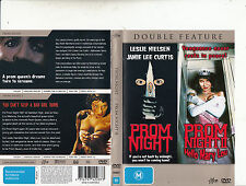 Prom Night-1980-Leslie Nielsen/Prom Night 2:Hellow Mary Lou-1987-2 Movie-DVD
