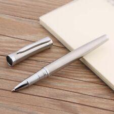 baoer 3035 stainless steel gift new Porcelain Silver Trim office Rollerball Pen