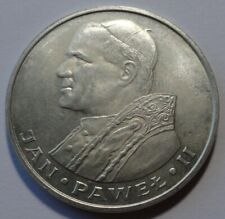 Poland POLEN 1000 ZL Zlotych Pope John Paul II Silver Coin 1982 UNC