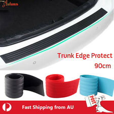 Car Trunk Rear Edge Protector Rubber Bumper Guard  No Scratch Auto Universal