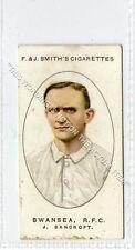 More details for (ga6642-454) smith, football club records, #50 j.bancroft swansea rfc 1917 vg-ex
