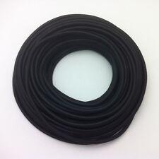 50m Design Textilkabel Stoffkabel Stromkabel Schwarz 1x0,75  Top EU Qualität