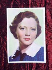 DE RESZKE POST CARD - FILM STAR  SYLVIA SIDNEY - #13 - UNPOSTED