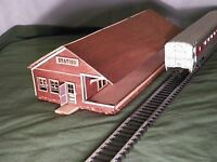 HO Scale Train Station Kit