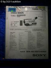 Sony Service Manual DCR TRV120 TRV120E TRV120P TRV125E TR8000E TR8100E (#5772)